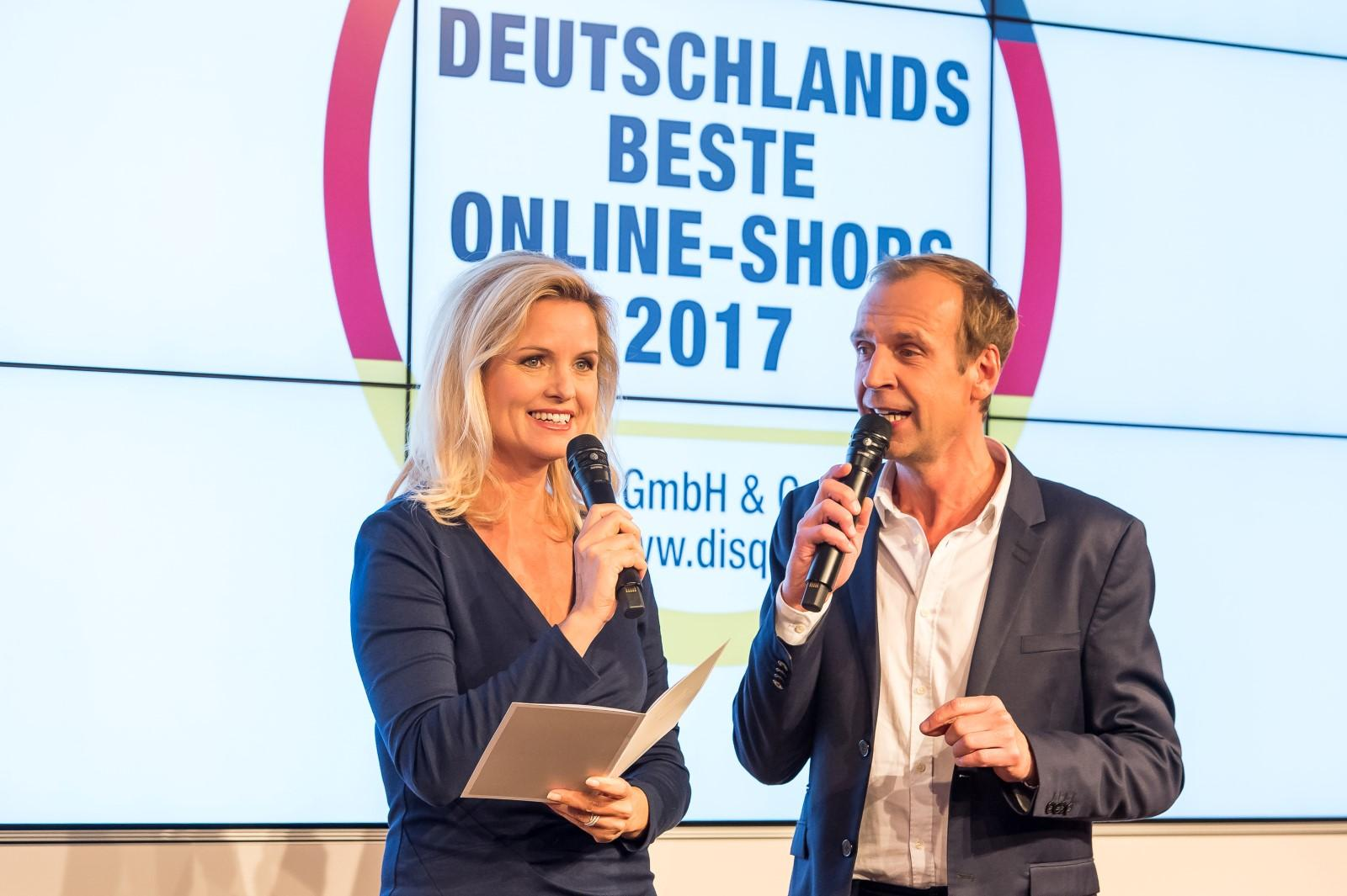 DEUTSCHLANDS BESTE ONLINE-SHOPS 2017 AUSGEZEICHNET